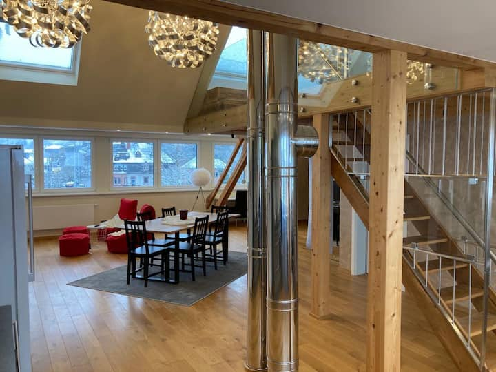Luxus Loft Wohnung im modernen Winzerhaus Saarburg