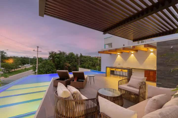 ★NEW 2BR APARTMENT★ PRIVATE PLUNGE POOL ★ MAIA 107