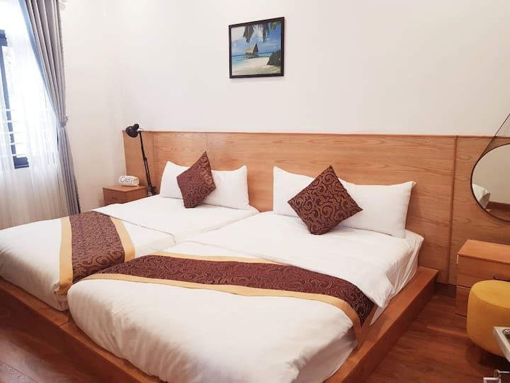 Quy Nhơn - The Sea hostel qn- Double bed- seaview