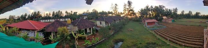 Justgokarna ( Green field ) beach view cottages