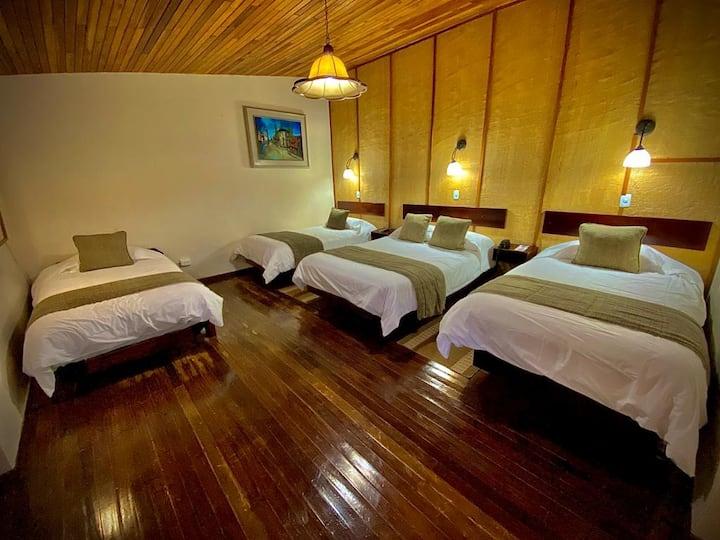 Sangay Spa Hotel-Cabañas Estándar