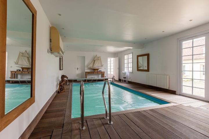 Chambre d'hôte de 40m2,piscine interieur privative
