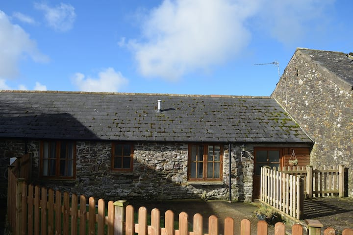Converted stone stable in North Devon