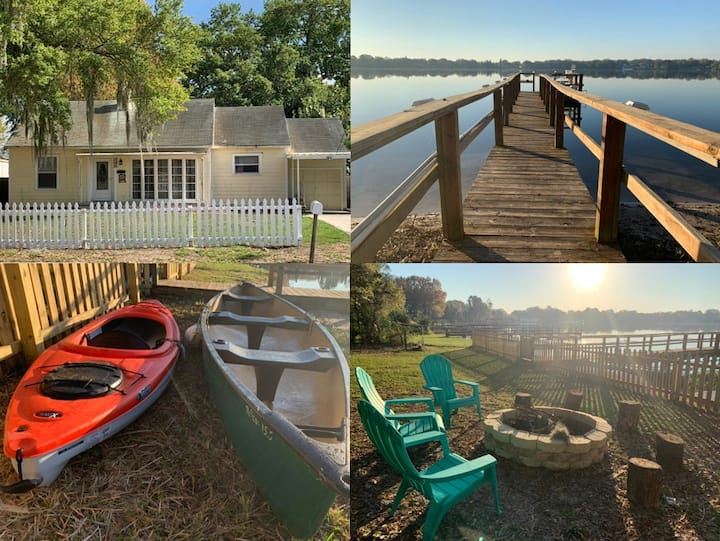 Awesome Lake House W/ Private Dock, Kayaks & More.
