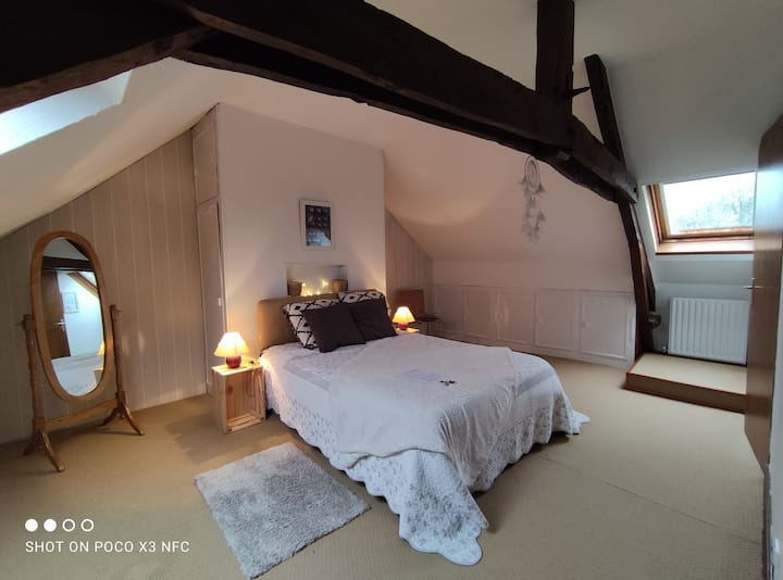 Chambre chez l'habitant en centre Bretagne