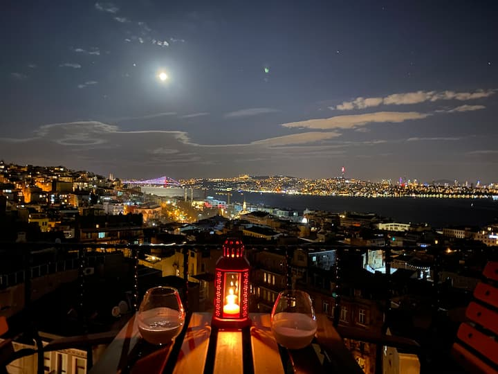 Stunning Bosphorus & Galata Tower View