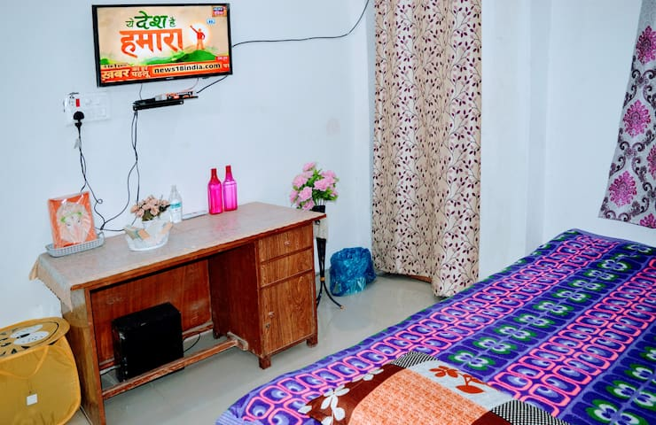 Bnb near Sarnath with warm water & sanitised rooms