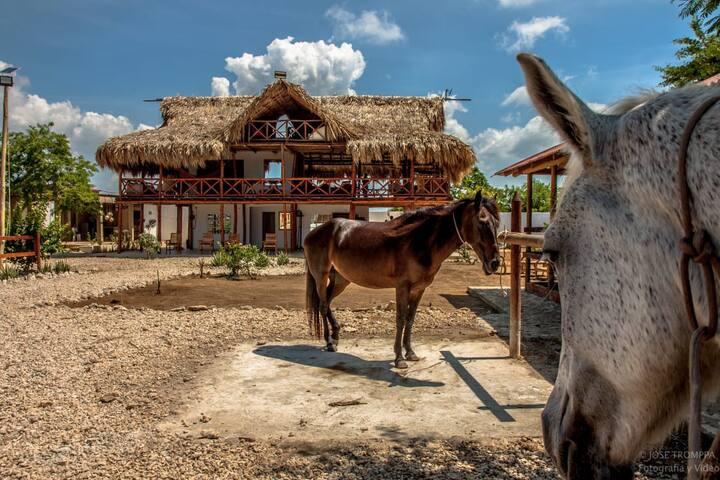 Casa Campestre en Medio de la Isla de Bocachica
