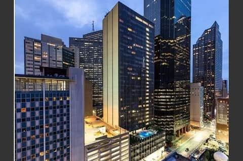 Experience the best view of the  Dallas Skyline!!