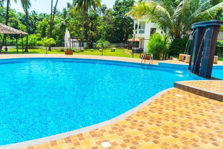 Premium Suites  2 Bhk Apartment Near Baga Beach