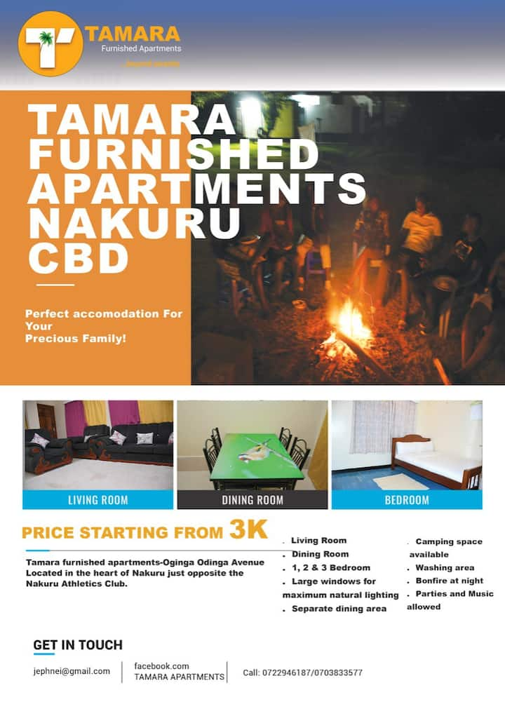Tamara Furnished Apartments-Nakuru CBD