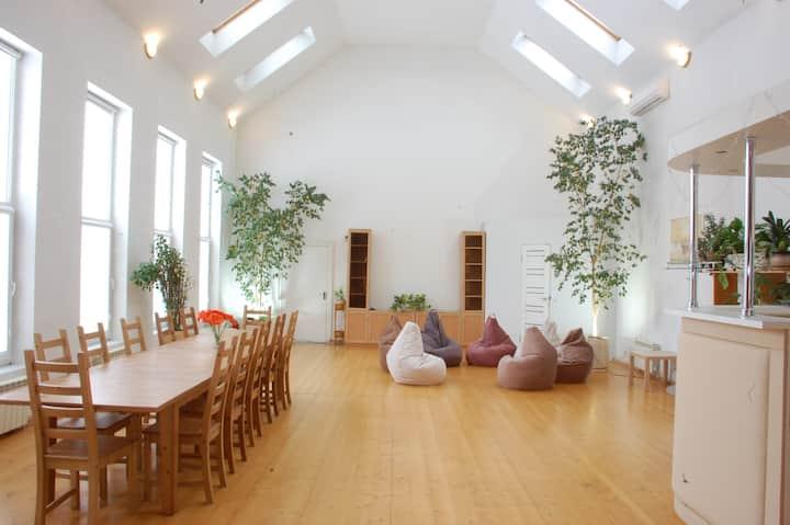 Дом в Беляниново с уникальным залом 80 кв.м