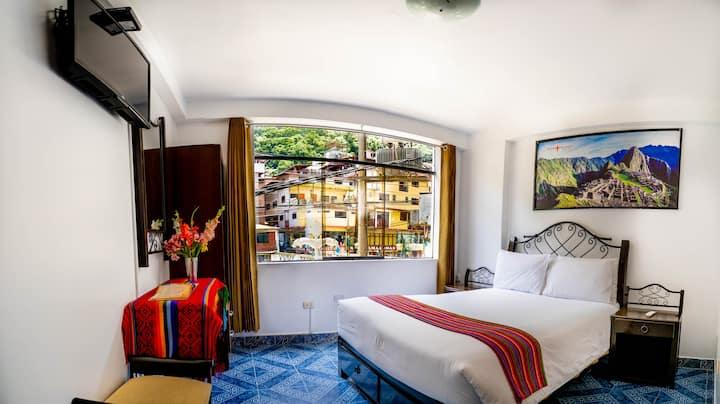 Hab Matrimonial con vista - HOtel Machupicchu Inn