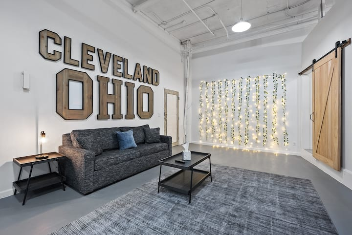 The Industrial Pinterest Loft - Cleveland