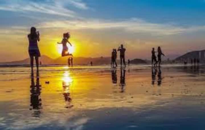 Embaré, pé na areia 2