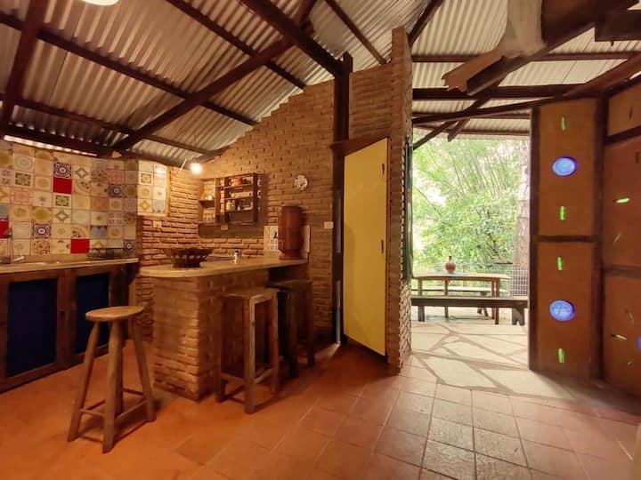 Casa de Cob - Ecocentro IPEC | Pirenópolis/GO