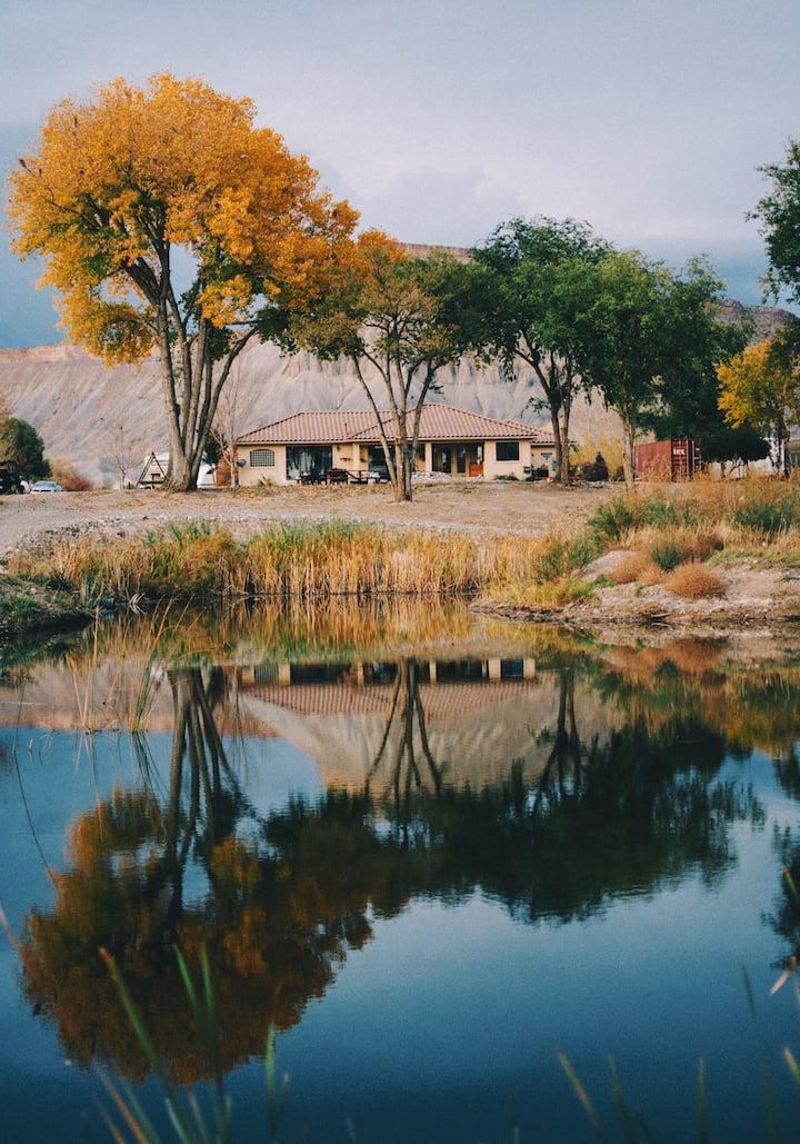 Colorado river lake house animal sanctuary