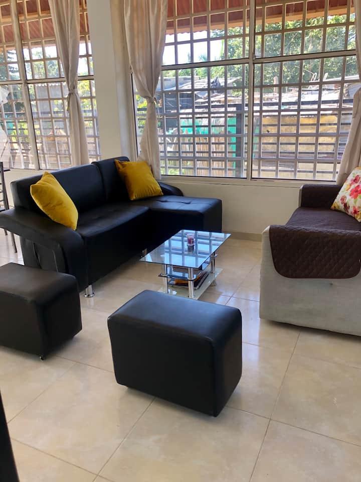 Habitacion Compartida en Linda Casa Cerca a Playa