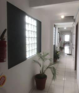 Corredor de acesso ao apartament