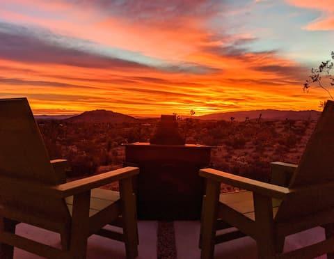 Mesa Vista Hilltop Cabin : Amazing Views & Hot Tub