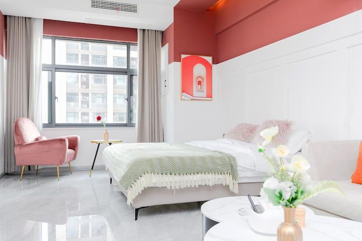 【珑寓】全屋智能投影一居室/红颜