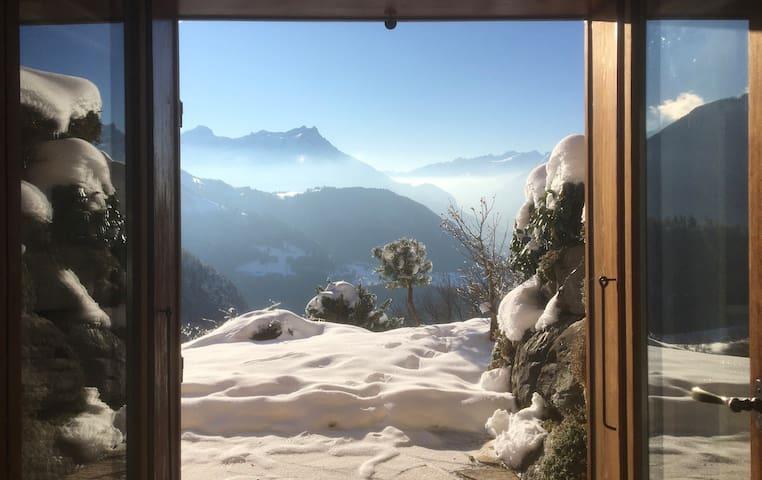 Studio Terrasse Vue Unique sur les Alpes Vaudoises