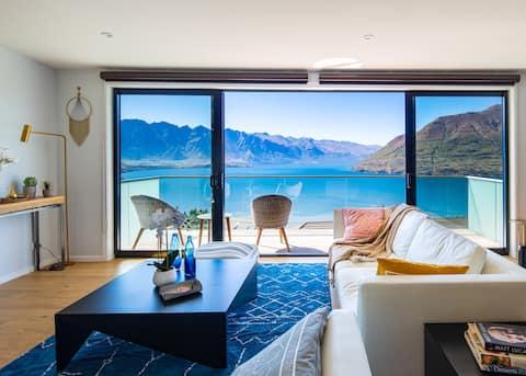Luxusní pozoruhodný výhled na jezero, Lyžařská komora na sušení