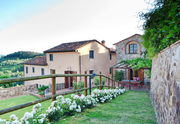 Stunning Tuscan Stone Home with Pool+Fitness Area