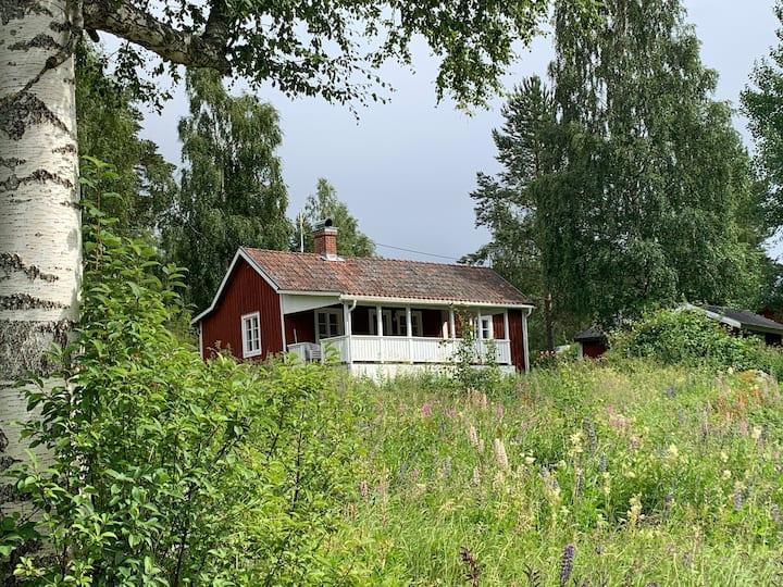 Stuga solsidan Järvsö - Olers Torp - Hälsingland