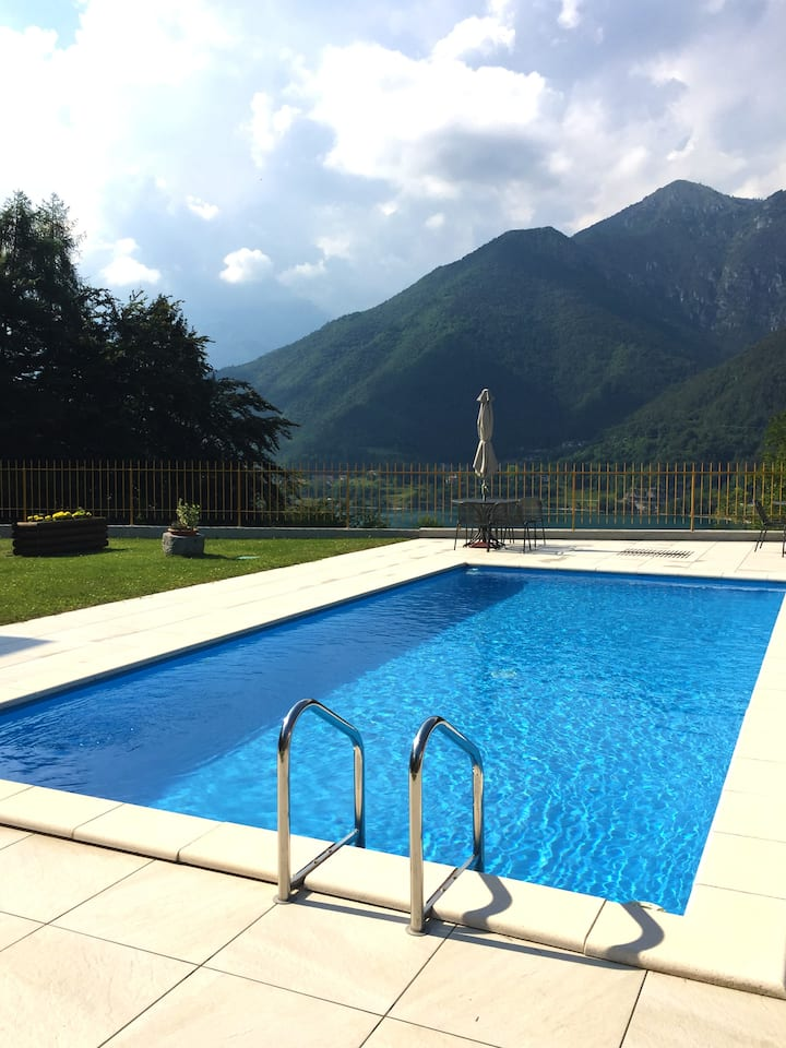 Chalet Bondal - Ledro Lake View w/Pool (TRILO)