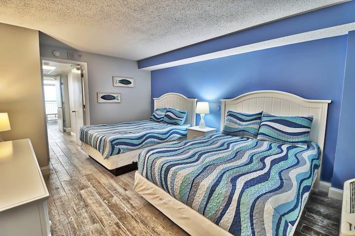 Oceanfront at the Boardwalk Resort. Remodeled!!