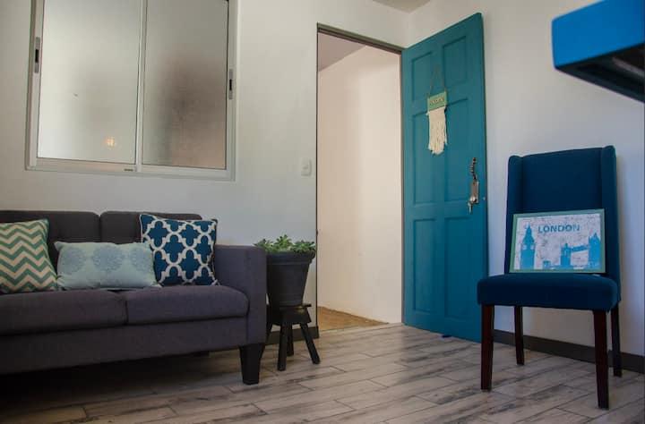 Cozy apartment with unique style
