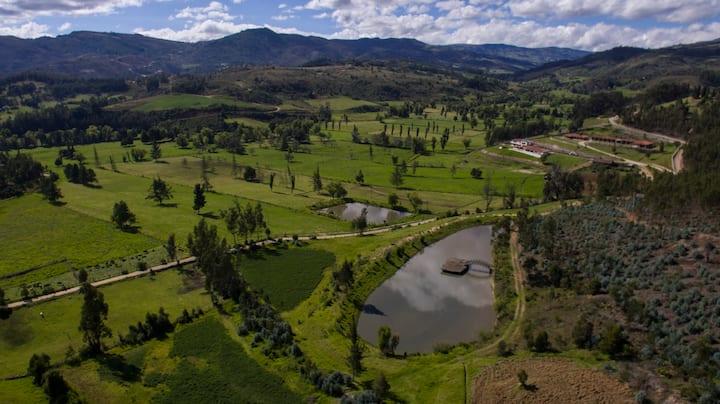 Alcoba privada 2 Hacienda Ecológica Tierra Adentro
