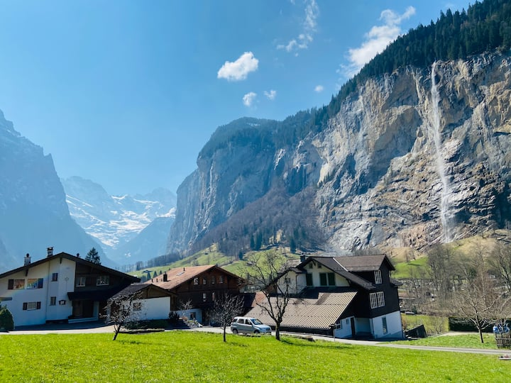 Apartment at Chalet Allmenglühn with stunning view