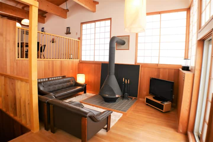 【NEW】NISEKO RIKYU -Villa with fireplace-