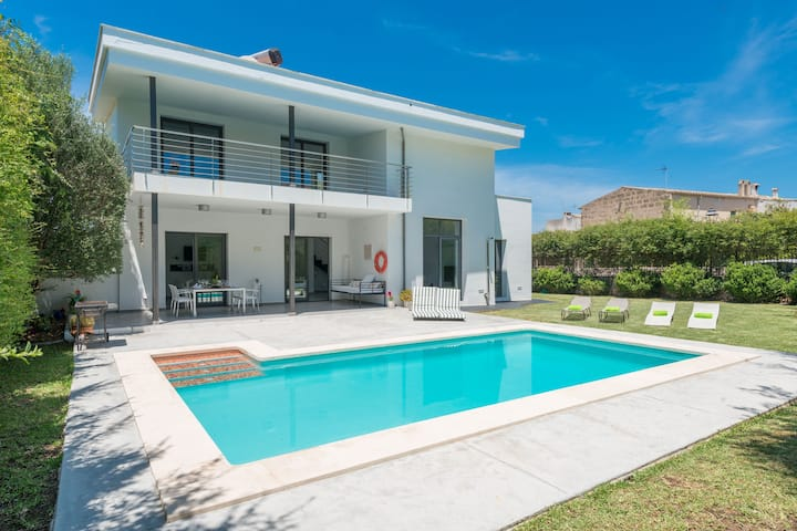 Llimonera (Costitx) - Modern chalet with pool