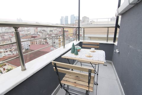 14 - Studio with Terrace in New Building