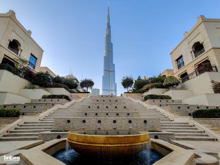 Luxury Designer Interior | Dubai Mall | bnbmehomes