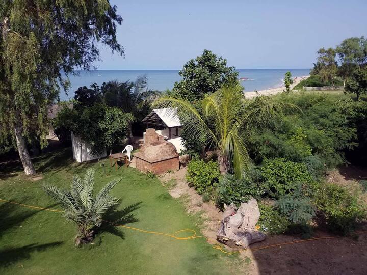 Chambre Double Confort #3 – Terrasse et vue océan
