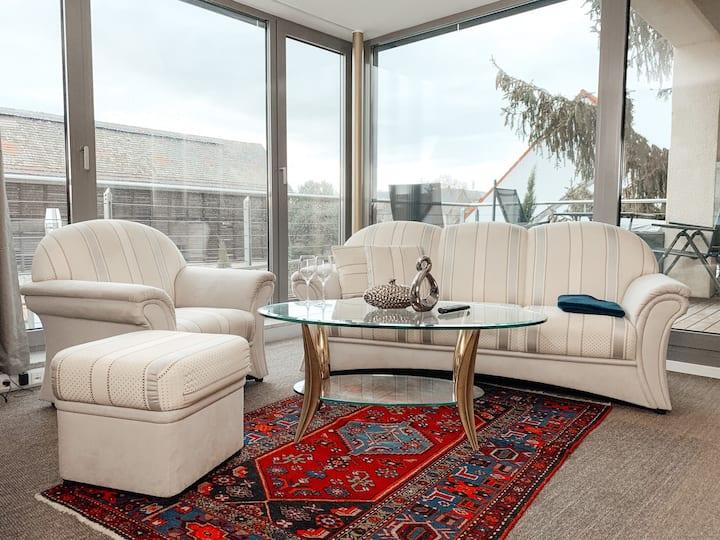 Luxuriöse Suite in Mannheim