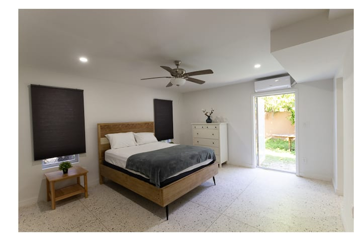 Amazing big bedroom with private entrance!