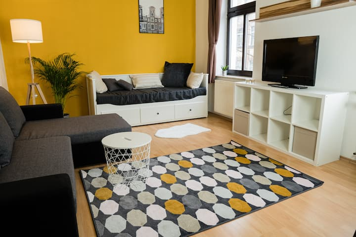 XL City COMFORT Apartment - NETFLIX+WiFi inklusive