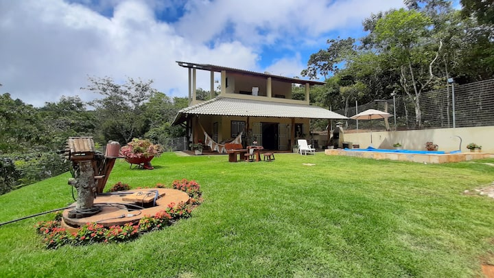 Linda casa na Serra do Mulungu