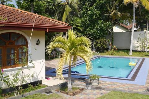 ⭐️  Wonderful stay in typical Sri Lankan Caro Villa