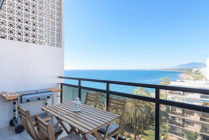 Dúplex con vistas panorámicas al mar y terraza