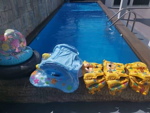 RF Homestay Melaka Private Pool.WiFi. Netflix. BBQ