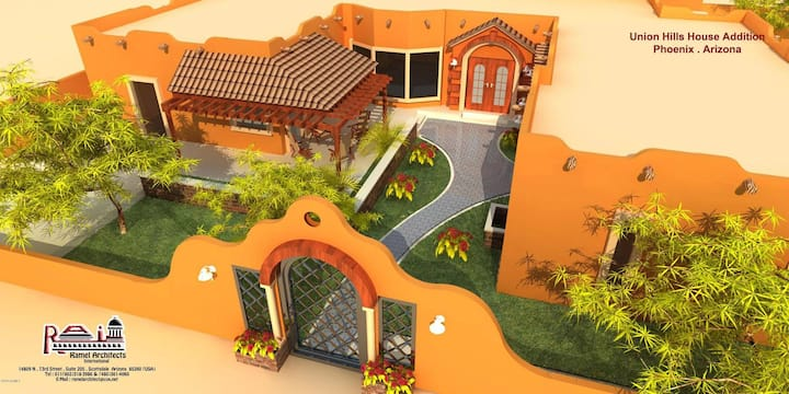 Resort Style Home, New Construction, Central Area.