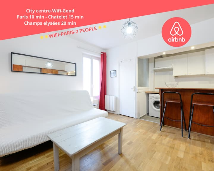 ☀BLAST☀ 1 Bed Cosy Appartment for 2 people Paris☀☀
