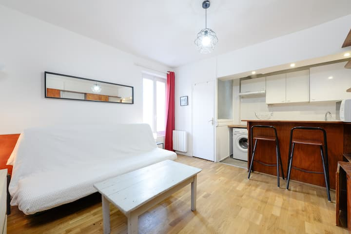 ☀☀ 1 Bed Cosy Appartment for 2 people Paris☀☀