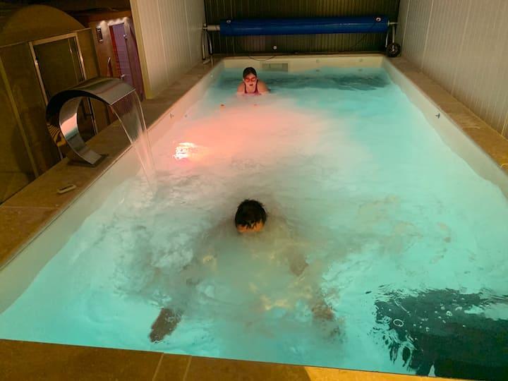 Belle Villa 6 pers dont 2h de spa inclus par jour
